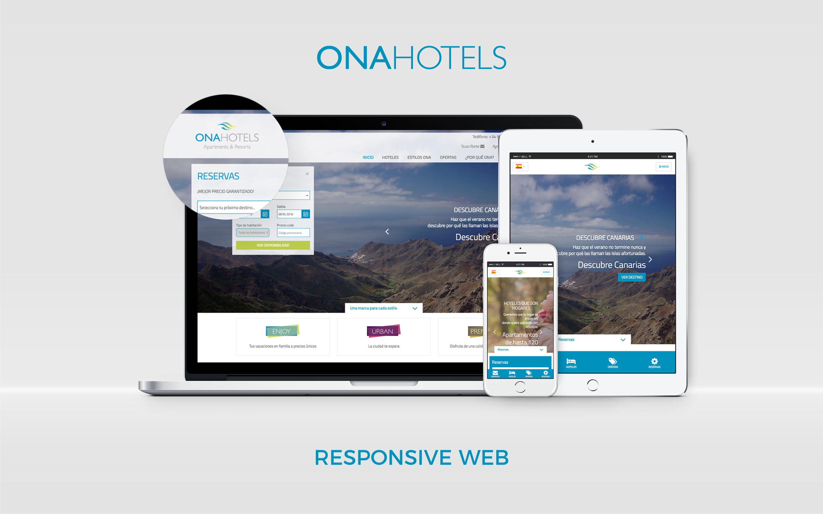 onahotels.com - responsive web